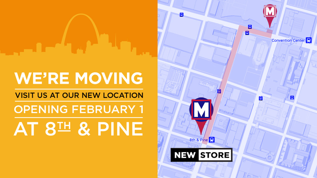 New MetroStore | We're Moving to 8th and Pine