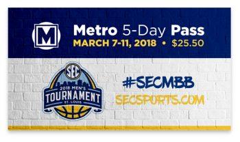 SEC 2018 Metro 5-day Pass